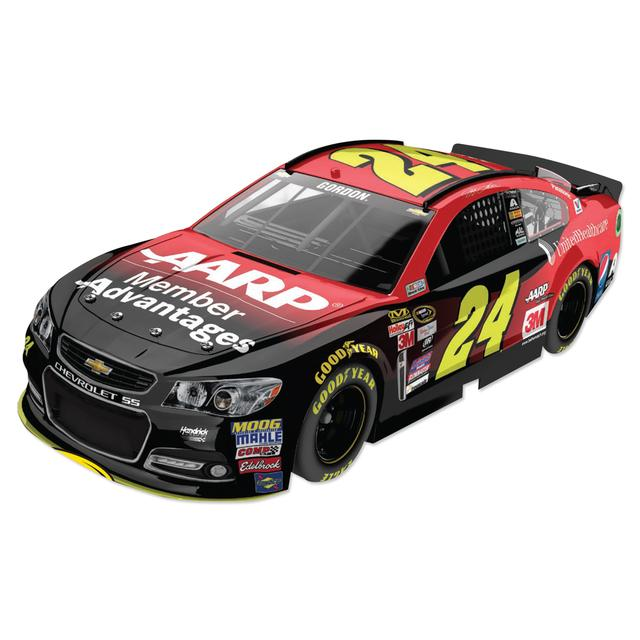 Hendrick Motorsports Jeff Gordon 2015 #24 AARP Member Advantage 1:24 Scale Nascar Sprint Cup Series Die-Cast