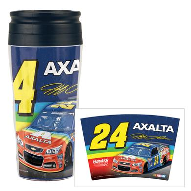 Hendrick Motorsports Jeff Gordon #24 Bristol Rainbow Rides Again Travel Mug