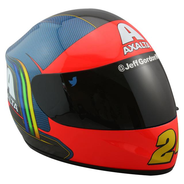 Hendrick Motorsports Jeff Gordon #24 Commemorative Rainbow Throwback Replica Helmet