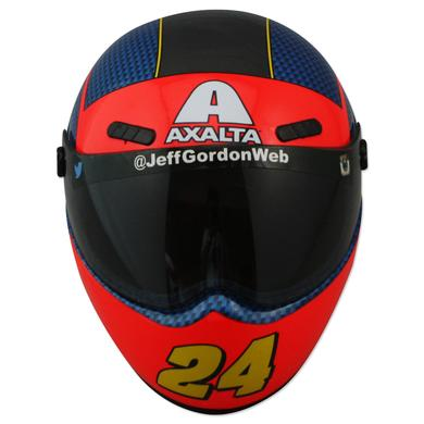 Hendrick Motorsports Jeff Gordon #24 Commemorative Mini Rainbow Throwback Replica Helmet