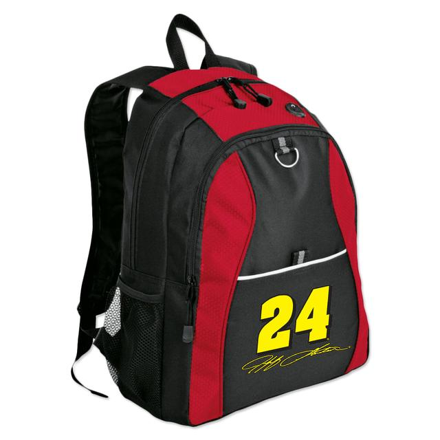 Hendrick Motorsports Exclusive Jeff Gordon #24 Signature Backpack