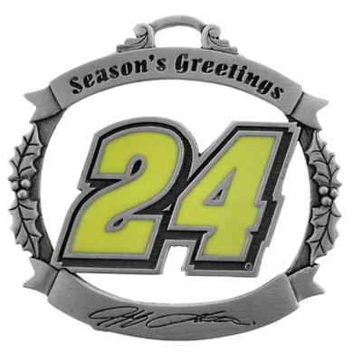 Hendrick Motorsports Jeff Gordon #24 Season's Greeting Ornament