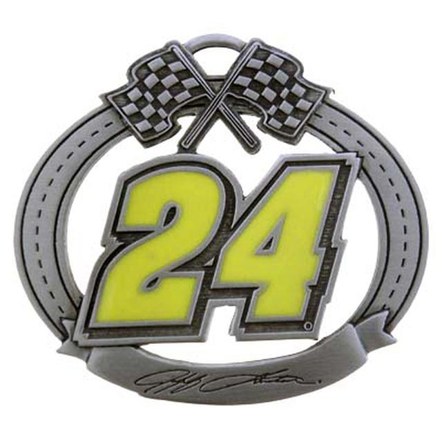 Hendrick Motorsports Jeff Gordon #24 Trackside Ornament