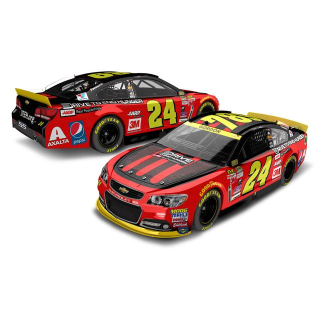Hendrick Motorsports Jeff Gordon 2015 #24 Ride w/ Jeff Iron Man 1:24 Scale Nascar Sprint Cup Series Die-Cast