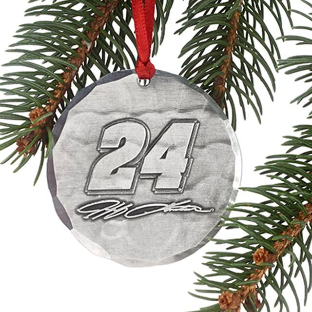 Hendrick Motorsports Jeff Gordon #24 Round Ornament