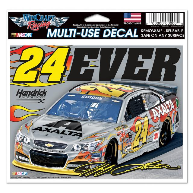 "Hendrick Motorsports Jeff Gordon #24 24EVER 5""x6"" Multi-Use Decal"