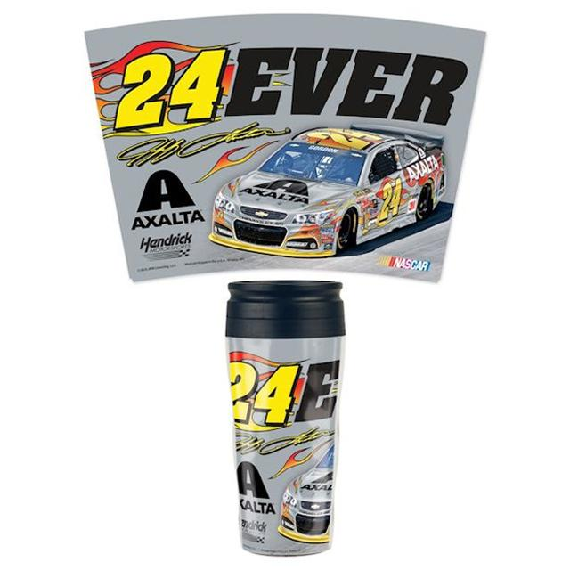 Hendrick Motorsports Jeff Gordon #24 24EVER 16oz. Travel Tumbler
