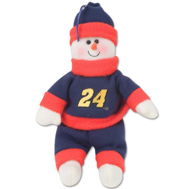 Hendrick Motorsports Jeff Gordon 10 inch plush Snowman