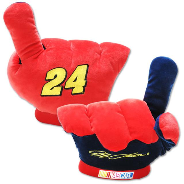 Hendrick Motorsports Jeff Gordon #24 Plush Finger