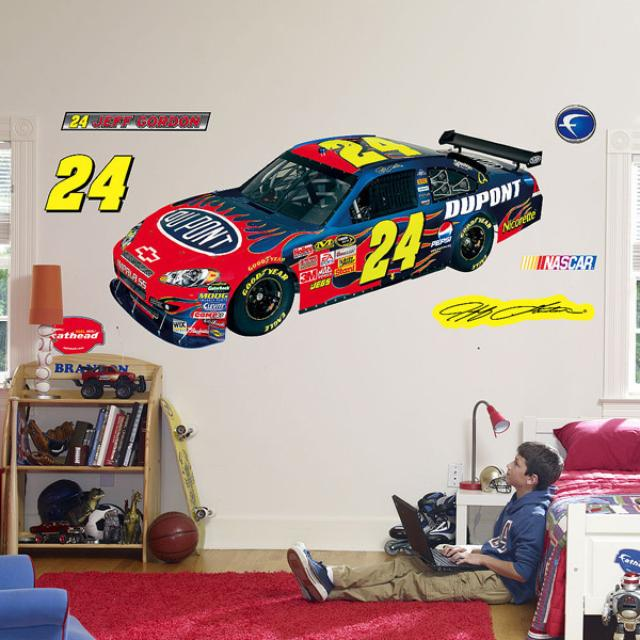 Hendrick Motorsports Jeff Gordon Fathead COT Car Wall Decal