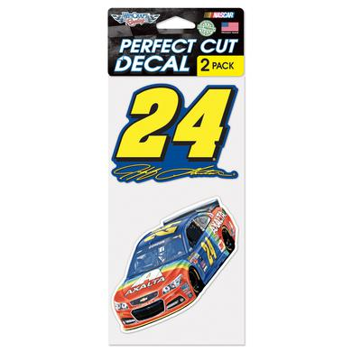 Hendrick Motorsports Jeff Gordon #24 Bristol Rainbow Rides Again 2pk. 4x8 Perfect Cut Decal