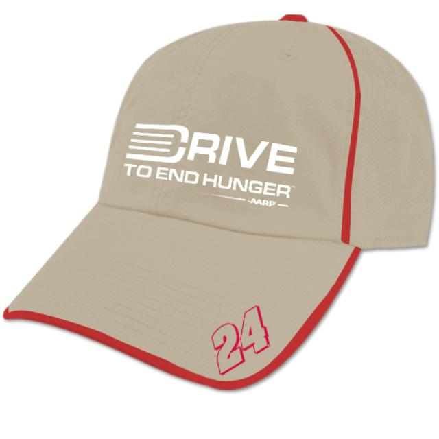 Hendrick Motorsports Jeff Gordon #24 'Drive To End Hunger' Piped Stretch Hat