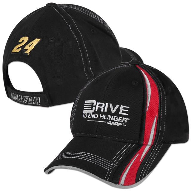 Hendrick Motorsports Jeff Gordon #24 DTEH Speedway Adj Hat Black