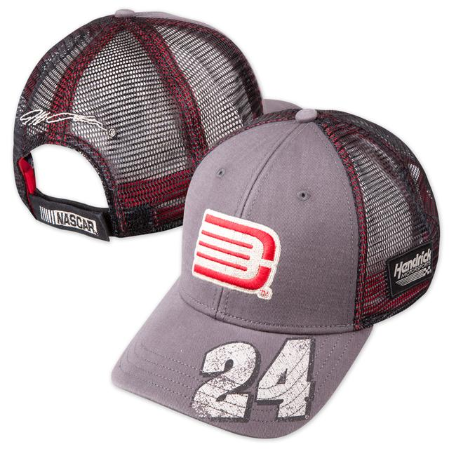 Hendrick Motorsports Jeff Gordon - Backstretch Distressed Trucker Hat by The Game