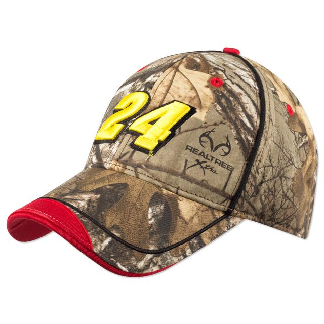 Hendrick Motorsports Jeff Gordon #24 RT Camo Drag Hat