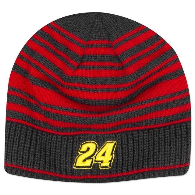Hendrick Motorsports Jeff Gordon #24 Draft Stripe Beanie Hat