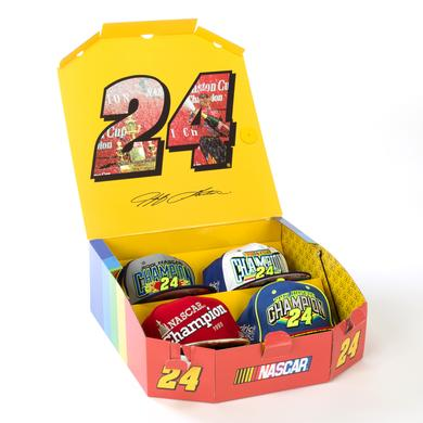 Hendrick Motorsports New Era Jeff Gordon #24 LTD. Edition Enjoy The Ride Champion 4 pc. Hat Collection