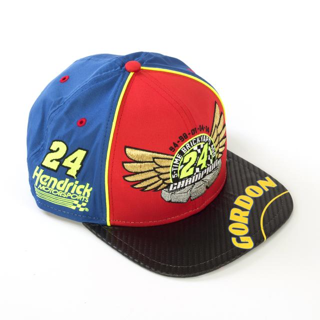 Hendrick Motorsports Jeff Gordon #24 New Era 5X Brickyard Champion Hat (In Box)