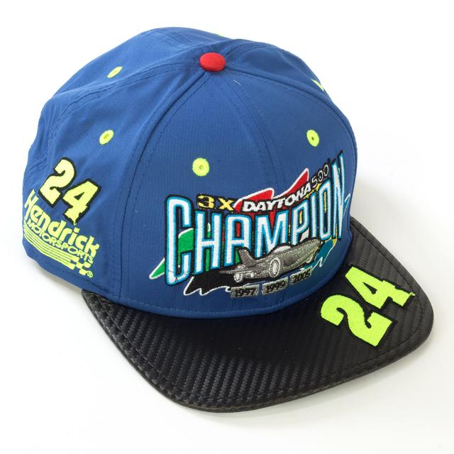 Hendrick Motorsports Jeff Gordon #24 New Era 3X Daytona 500 Champion Hat (In Box)