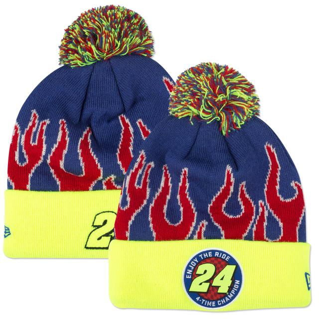 Hendrick Motorsports Jeff Gordon #24 New Era Enjoy the Ride Glow in the Dark Knit Beanie