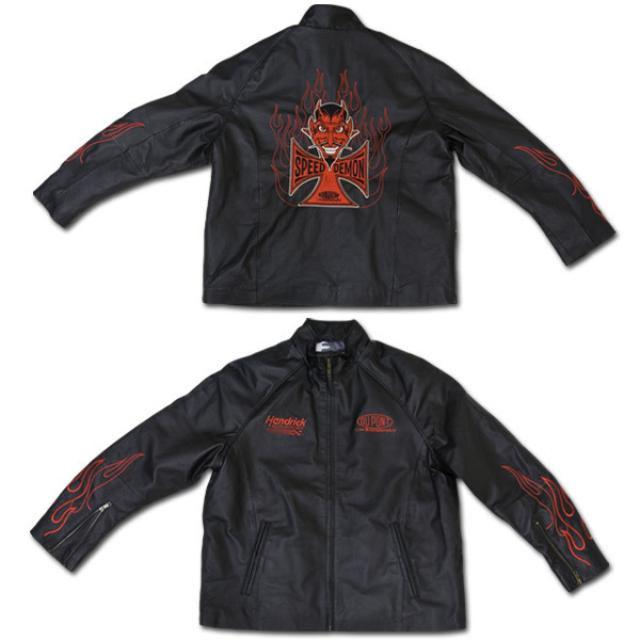Hendrick Motorsports Jeff Gordon #24 Leather Jacket
