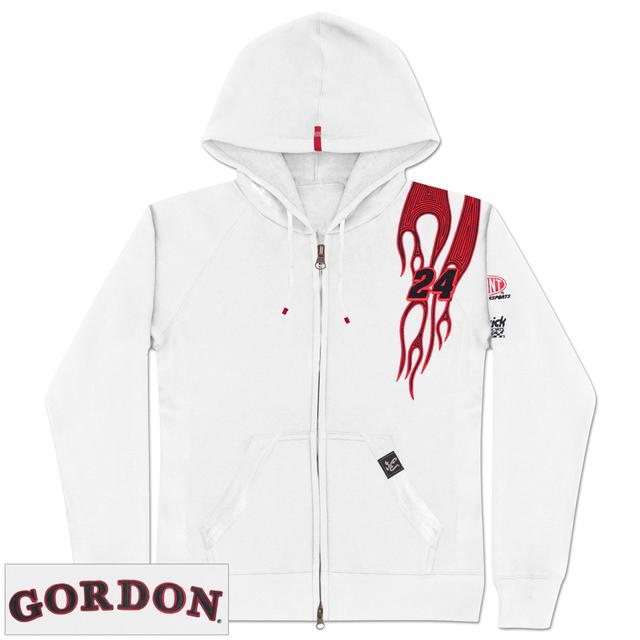 Hendrick Motorsports Jeff Gordon #24 Ladies Flame Full-Zip Hoodie