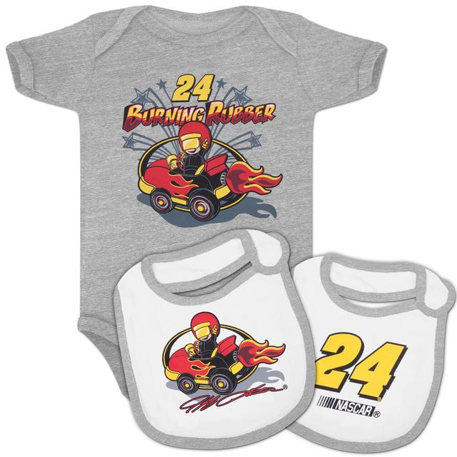 Hendrick Motorsports Jeff Gordon #24 Infant Boys Creeper & Bib Set