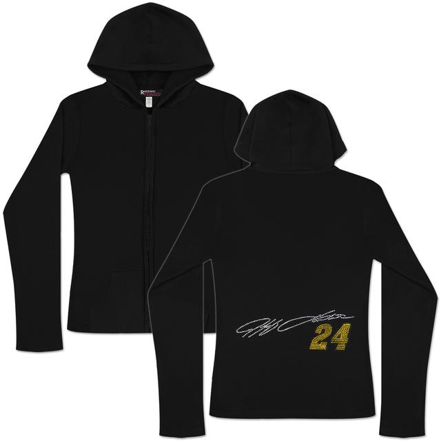 Hendrick Motorsports Jeff Gordon #24 Signature Ladies Zip Hoodie