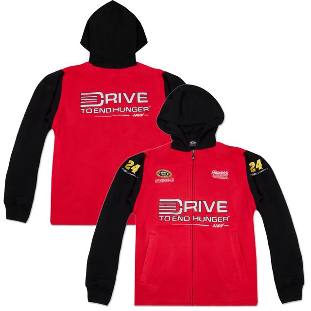 Hendrick Motorsports Jeff Gordon #24 Drive to End Hunger Big Sponsor Hoodie