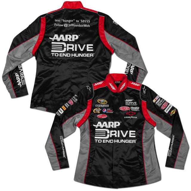 Hendrick Motorsports Jeff Gordon #24 Drive To End Hunger Ladies Replica Uniform Jacket