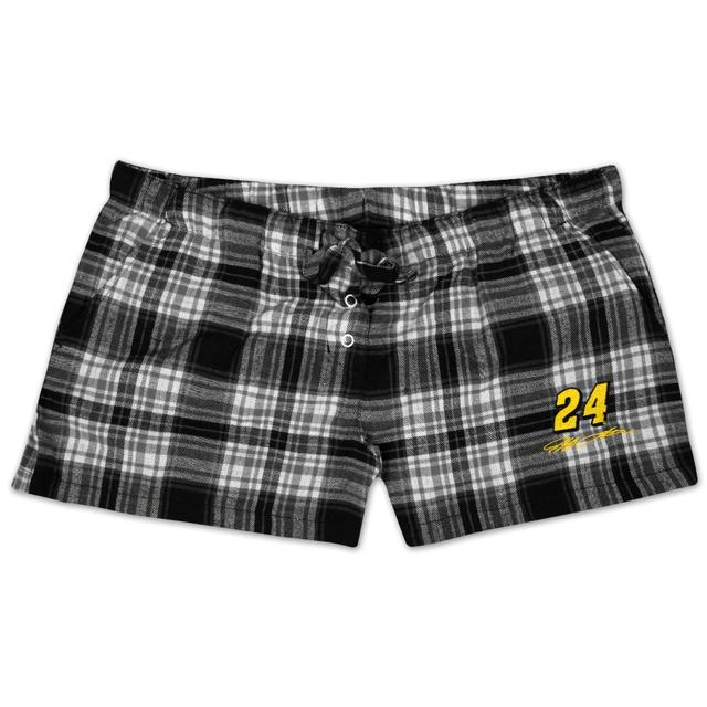 Hendrick Motorsports Jeff Gordon #24 Ladies Crossroad Plaid Flannel Short