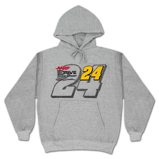 Hendrick Motorsports Jeff Gordon #24 Straight Away Number Hoodie