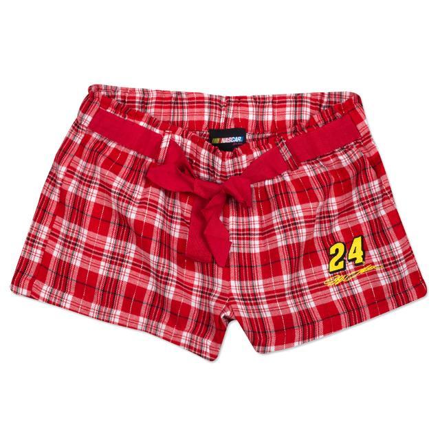 Hendrick Motorsports Jeff Gordon Ladies' Flannel Short