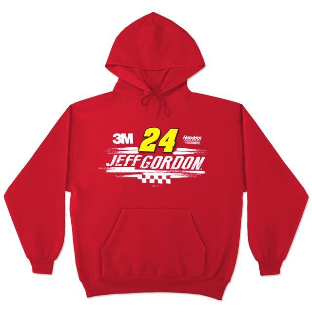 Hendrick Motorsports Jeff Gordon Swoosh Driver Fan Hoodie by CFS