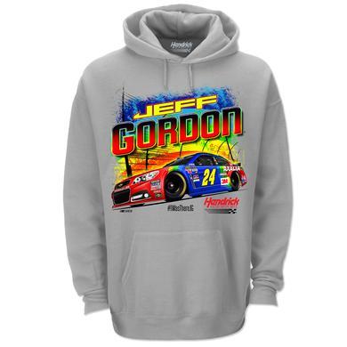 Hendrick Motorsports Jeff Gordon # 24 Bristol Rainbow Rides Again Graphic Hoodie