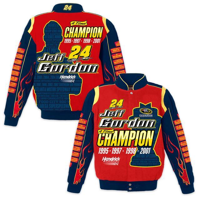 Hendrick Motorsports Jeff Gordon Commemorative Twill Jacket