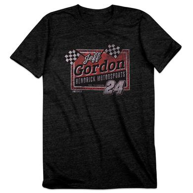 Hendrick Motorsports Jeff Gordon #24 Men's Vintage Finish Line T-Shirt