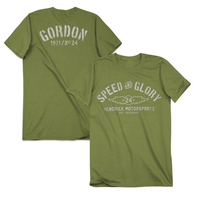 Hendrick Motorsports Jeff Gordon #24 Men's Speed & Glory T-Shirt