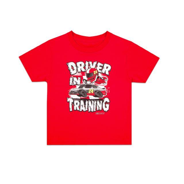 Hendrick Motorsports Jeff Gordon #24 Toddler Driver In Training T-Shirt