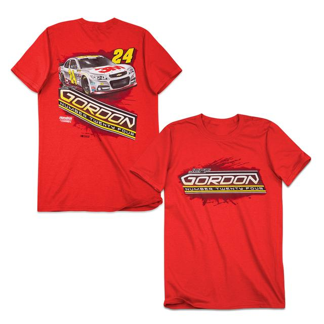 Hendrick Motorsports Jeff Gordon #24 Backstretch T-Shirt