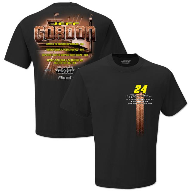 Hendrick Motorsports Jeff Gordon #24 2015 Brickyard T-Shirt