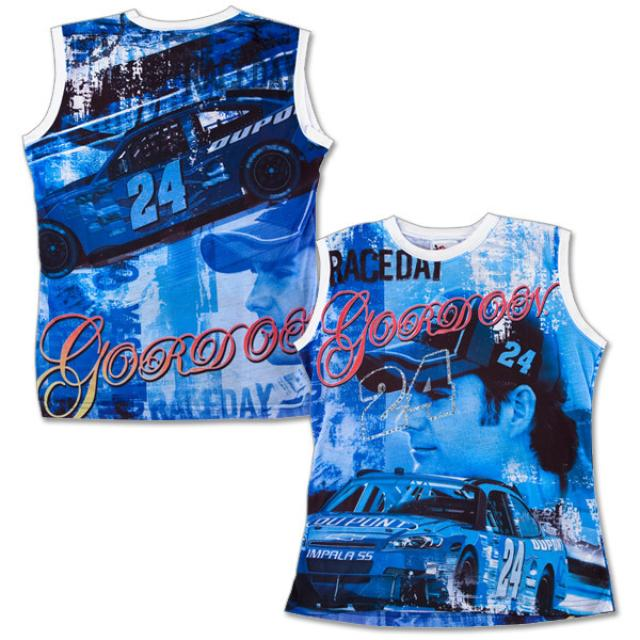 Hendrick Motorsports Jeff Gordon Ladies All Over Print Tank