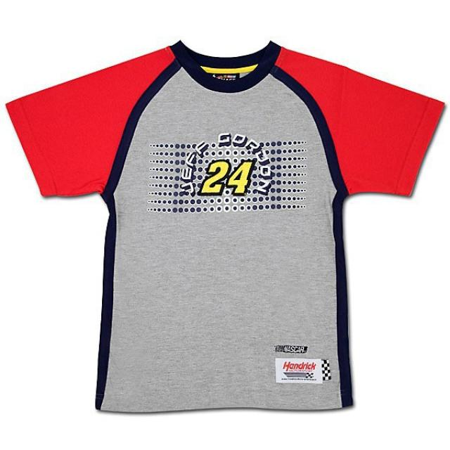 Hendrick Motorsports Jeff Gordon Youth Checkered Flag T-shirt