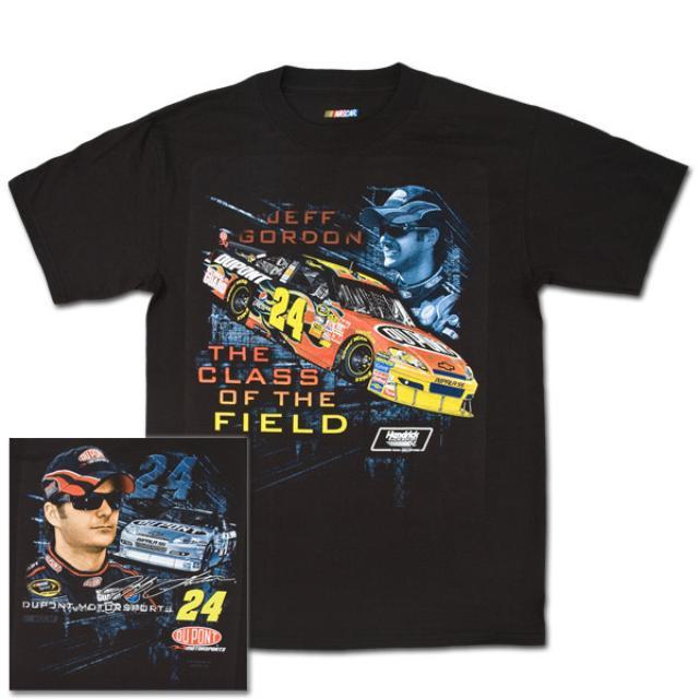 Hendrick Motorsports Jeff Gordon #24 DuPont Track Down T-Shirt