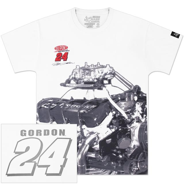 Hendrick Motorsports Jeff Gordon #24 DuPont Engine T-Shirt
