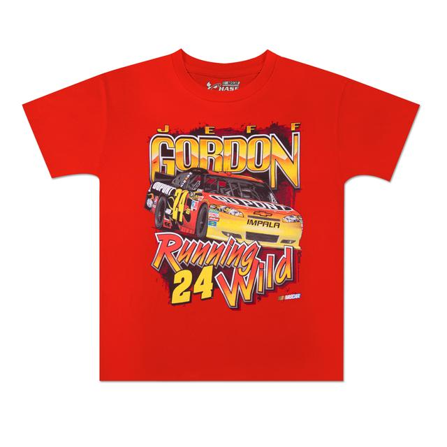 Hendrick Motorsports Jeff Gordon #24 DuPont Youth Running Wild T-Shirt