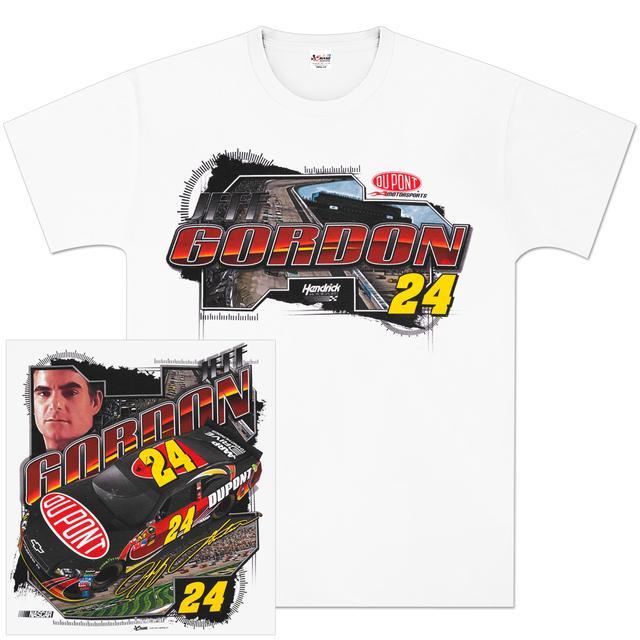 Hendrick Motorsports Jeff Gordon #24 DuPont Draft T-shirt