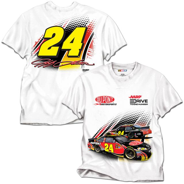 Hendrick Motorsports Jeff Gordon LTD Edition Exclusive 2012 Launch T-shirt