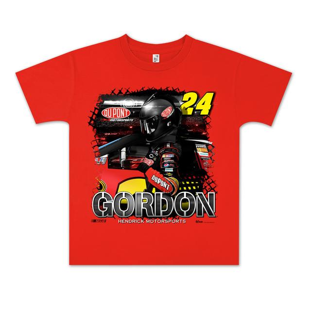 Hendrick Motorsports Jeff Gordon #24 DuPont Youth Showtime T-shirt