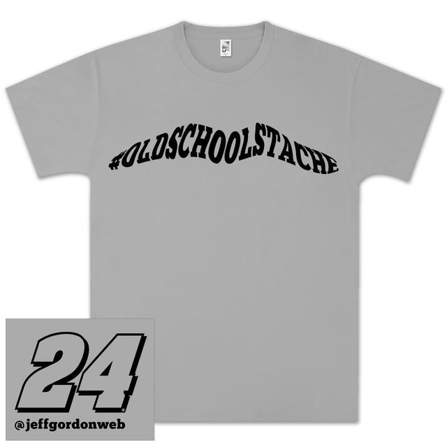 Hendrick Motorsports Jeff Gordon #OldSchoolStache T-shirt - EXCLUSIVE!